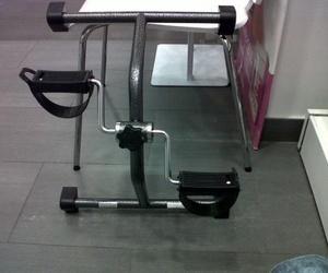 Ejercitar las piernas con un pedalier