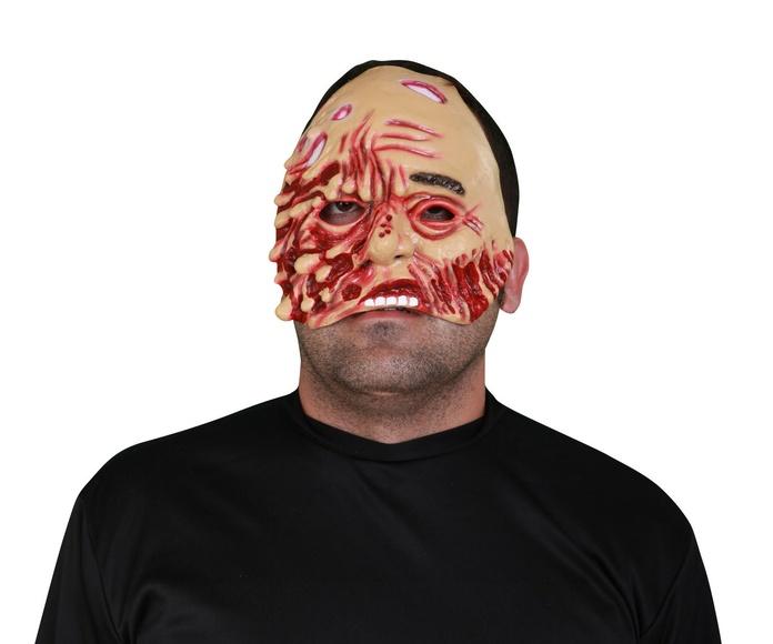 Media máscara zombie