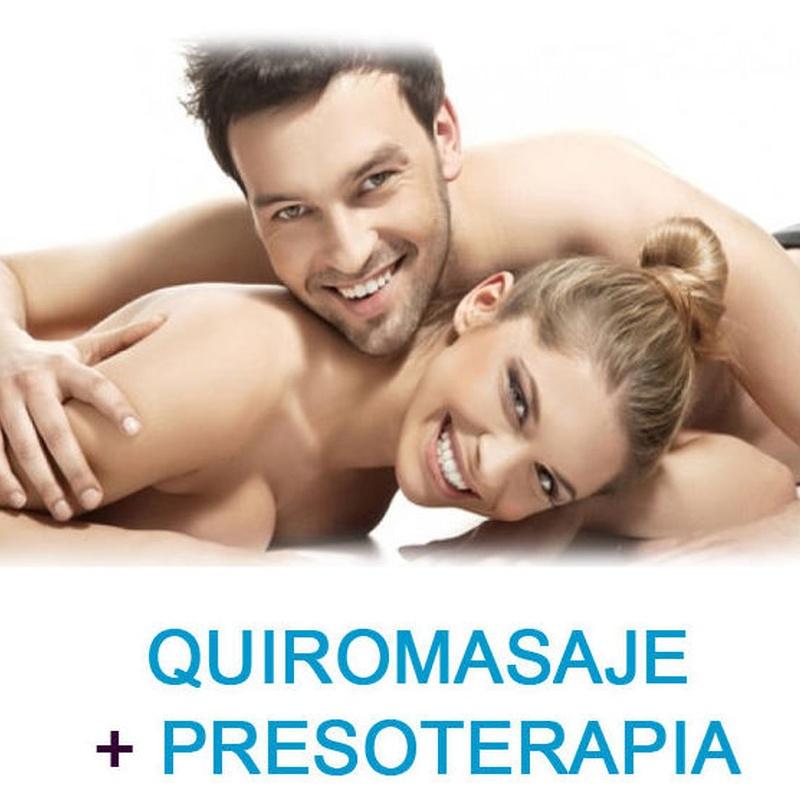 Pack Relajante - Quiromasaje y Presoterapia: Servicios de Quirosan