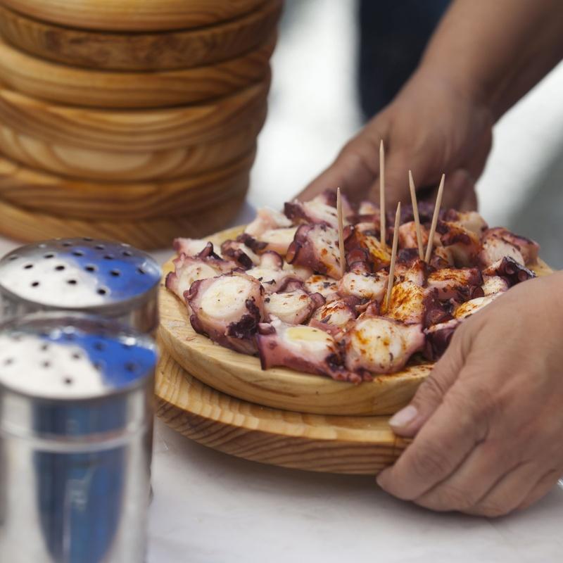 "Pulpo ""A Feira"": Nuestra Carta de Restaurante Coto do Rano"