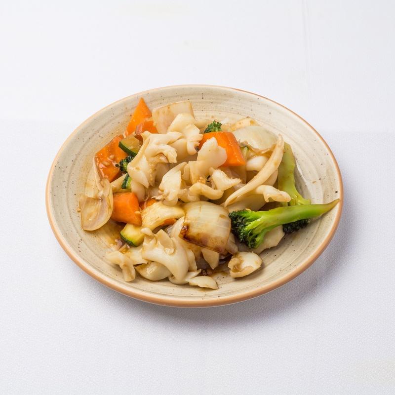 Sepia con verduras: Carta de Restaurante Sowu