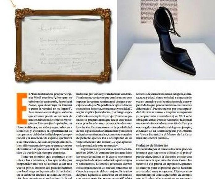 Colaboración con la Revista Vis a Vis
