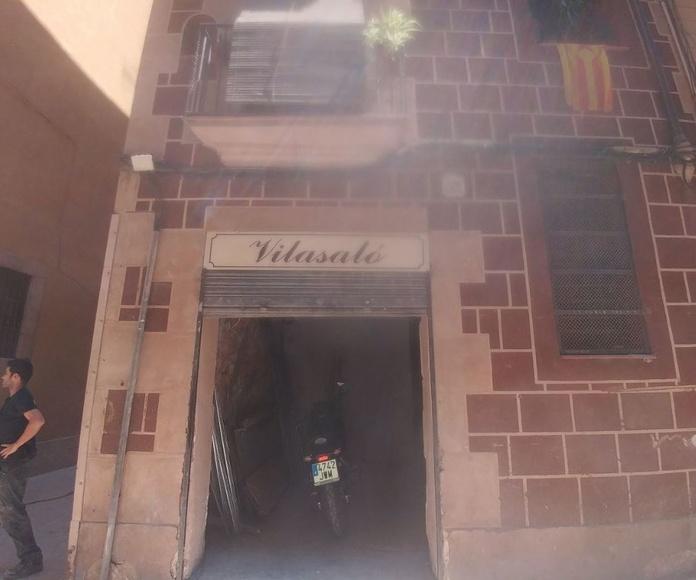 Obra Carrer de Sant Pere Més Alt 32, Barcelona
