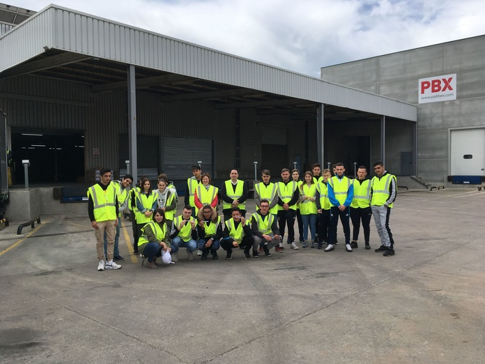 Visita estudiantes Lycée Ernest Ferroul a Mascotrans