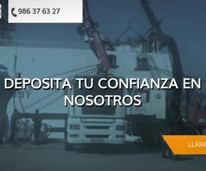 Alquiler de grúas Pontevedra | Transportes Andaluz