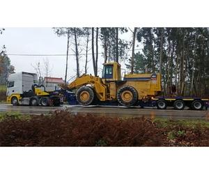 Transporte de tractores