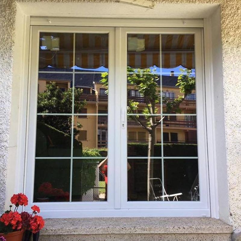 Balconera de PVC Kömmerling