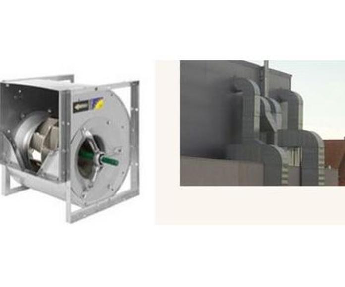 Ventilación y extracción : Trabajos   de Vaypa Sistemas de  Climatización