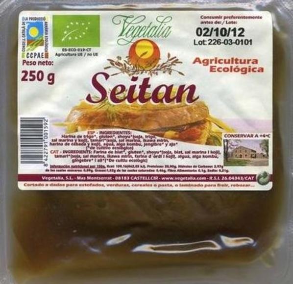 VEGETALIA, Seitan: Catálogo de La Despensa Ecológica