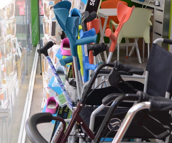 Ortopedia: Productos y servicios de Farmacia Paseo de la Estación