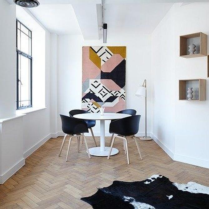 ¿Pintar las paredes de blanco o en colores?