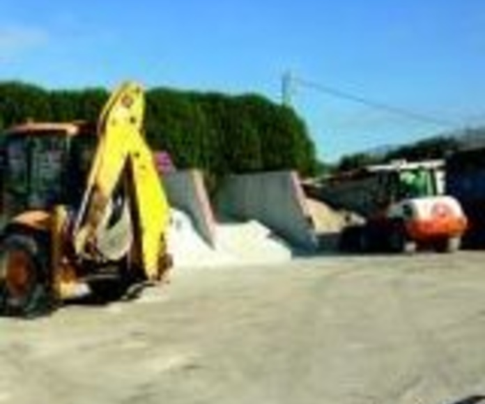 Materiales de construcción: Productos y servicios de Alquileres Frías Málaga