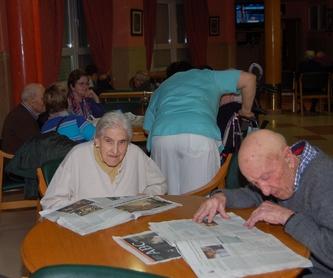 Terapia ocupacional: Servicios de Residencia Virgen de Loreto