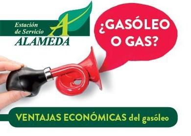 ¿GASÓLEO O GAS? Ventajas económicas del gasóleo.