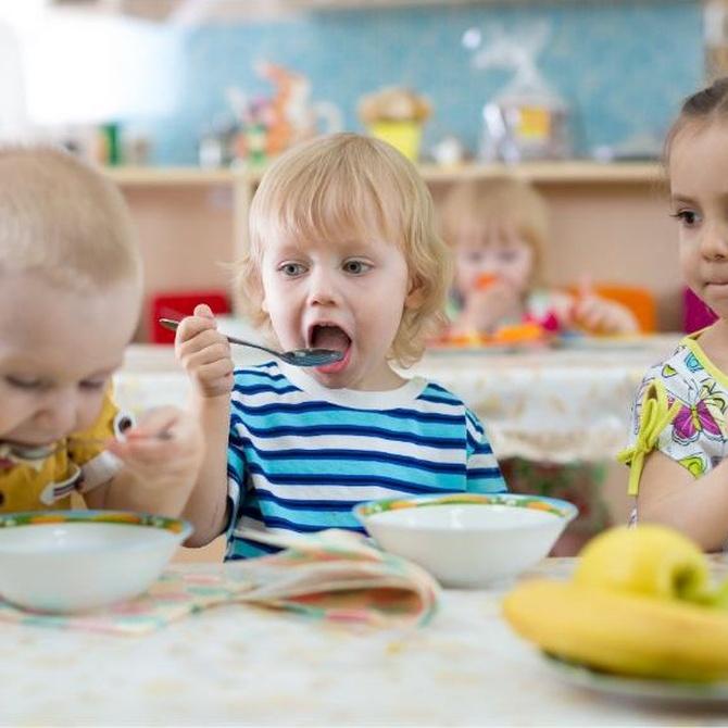 Enseñar a comer sano desde edades tempranas