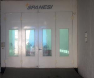 Talleres Zaragoza, cabina de pintura de carrocerías en Valdemoro