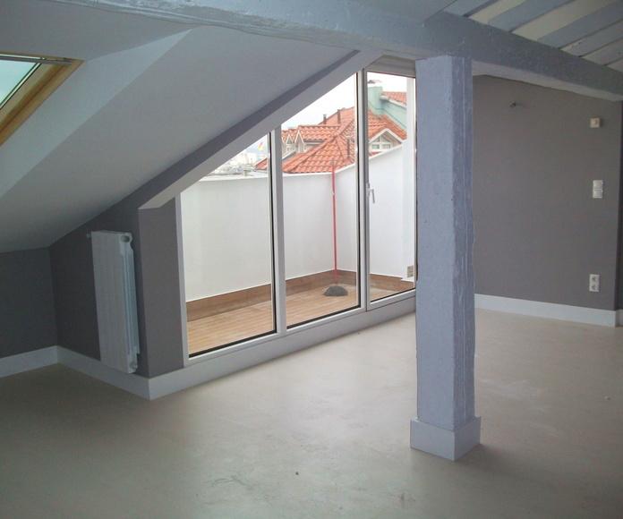 Reforma integral de cuatro pisos de estructura de madera: Servicios  de Thisan Construcciones y Reformas