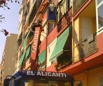 Galería de Grúas móviles y polipastos en    Grúas El Alicantí