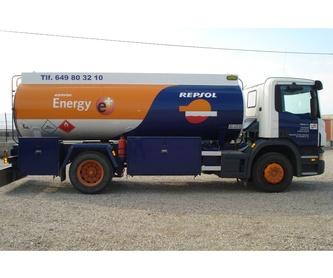 Flota: Productos y servicios de Petroal