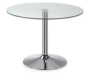 Mesa de cristal 100 cm