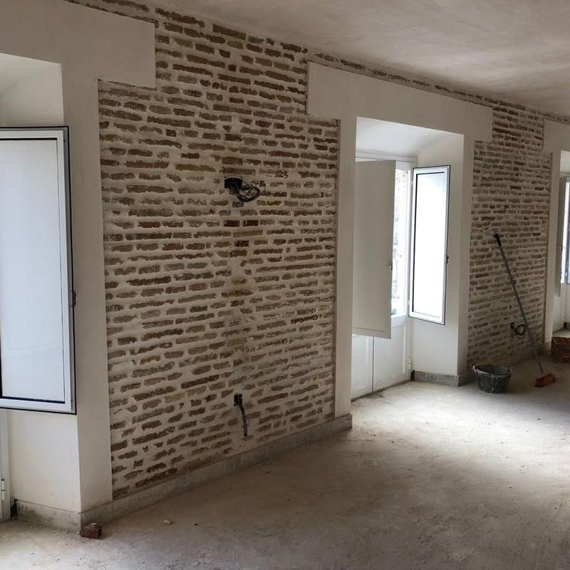 Rehabilitación del edificio completo en calle Adriano (interior)