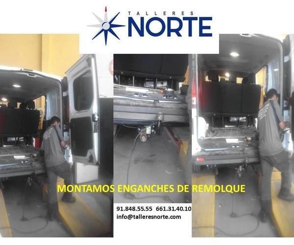 Enganches de remolques Talleres Norte Torrelaguna