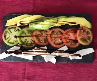 Vegetarianos: Especialidades de Restaurante Terraza Sidrería La Diosa del Mar