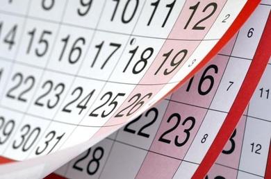 Curso 2018/2019 - Días de cierre de la escuela