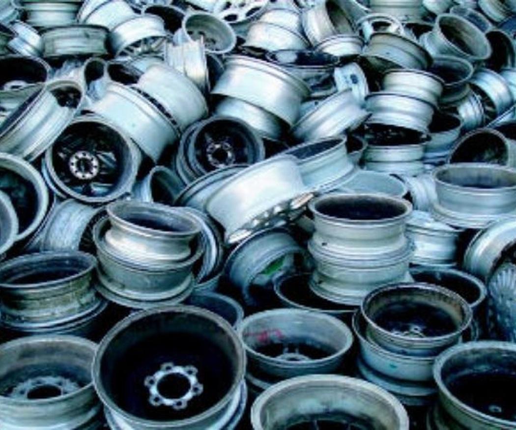 Reciclaje de llantas de aluminio