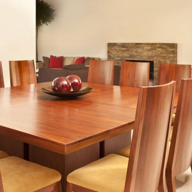 ¿Cómo hay que proteger los muebles de madera?