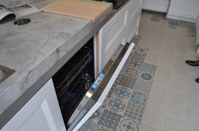 Infer Cocinas: Fusionar y ocultar los electrodomésticos : Productos y servicios de Muebles Marino