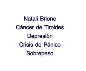 Testimonio Cáncer de Tiroides-Depresion-Crisis de Panico-Sobrepeso