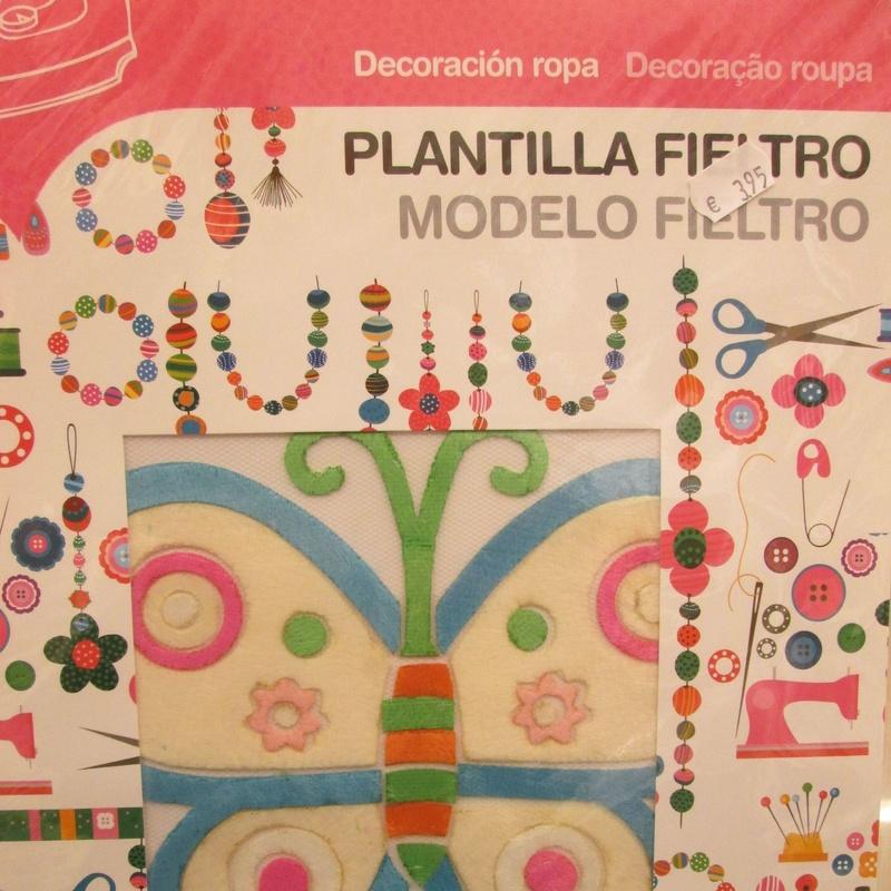 FIELTRO. PLANTILLA PARA TRANSFERIR A ROPA. PAMPY: Librería-Papelería. Artículos de Librería Intomar