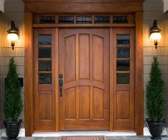 Porches de madera: Servicios de Carpintería Alfonso