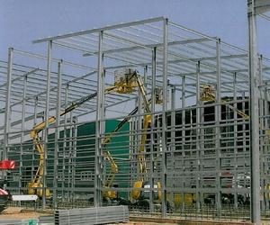 Fabricación de estructuras para naves