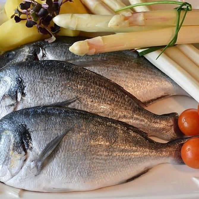 Incluye el pescado en tu dieta con una copita de vino blanco