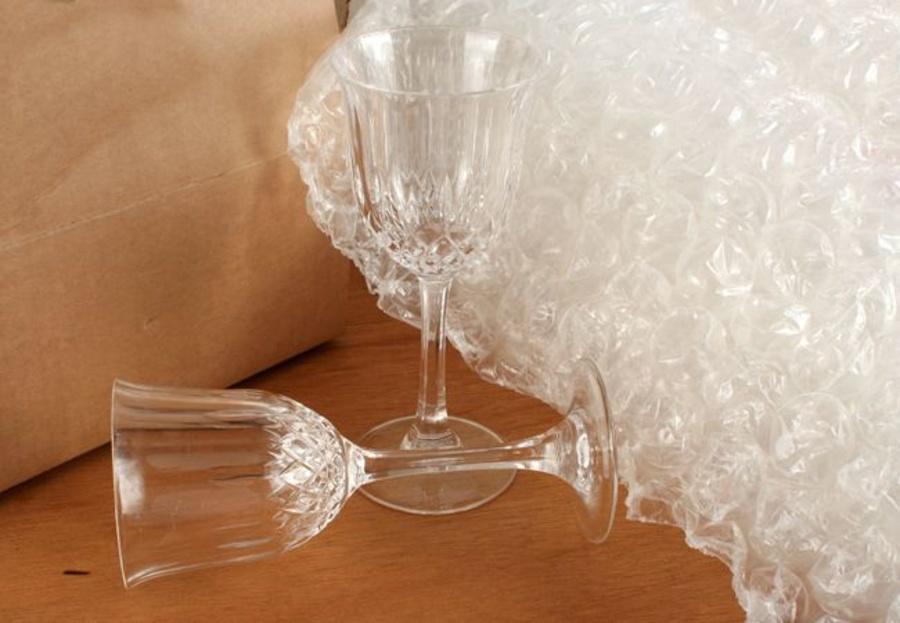 Proteger el cristal en una mudanza