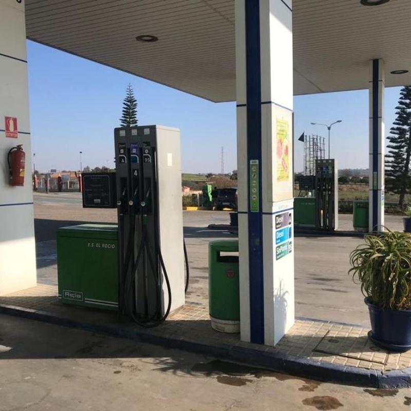 Gasolina, diésel, extradiésel y biodiésel: Servicios de Estación De Servicio El Rocío