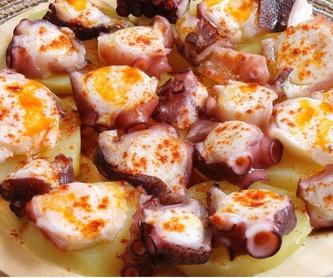 Paellas: Nuestra carta de Restaurante Asador El Pozo