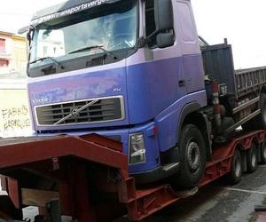 El transporte de maquinaria por carretera en España