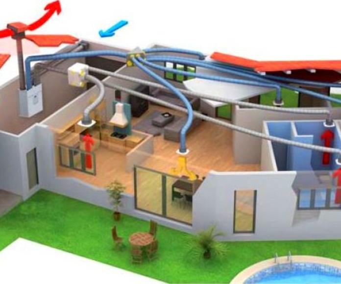 Ventilación mecánica en vivienda
