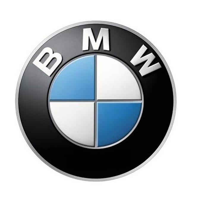 El famoso logotipo de BMW