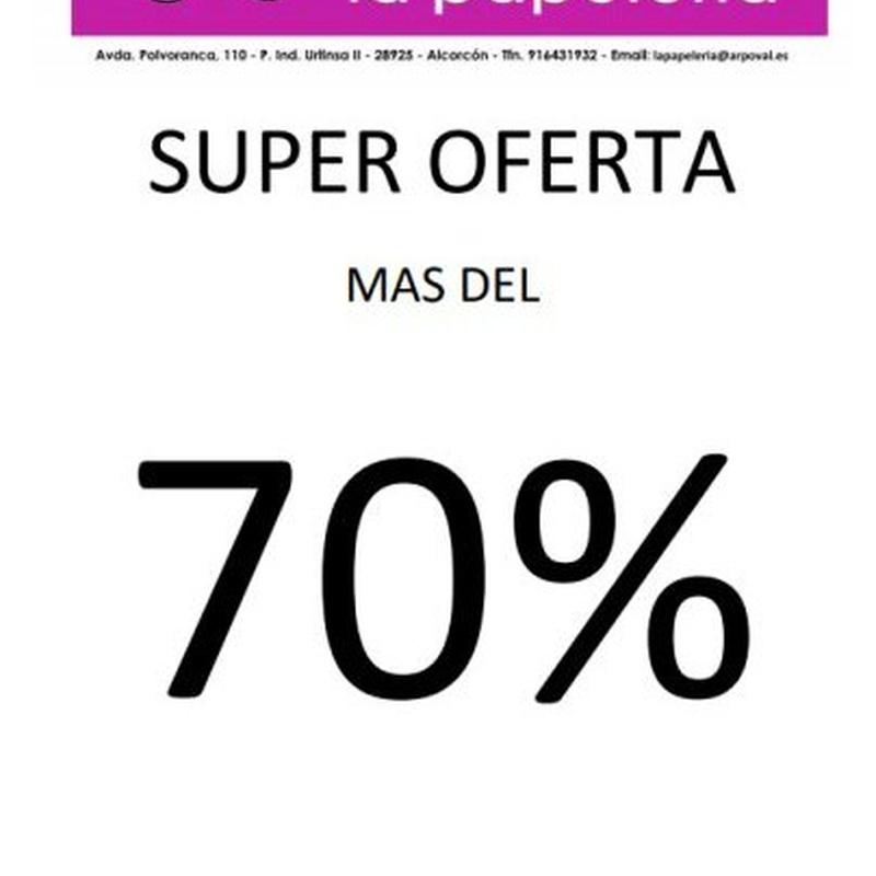Super oferta más del 70% de ahorro con nuestros consumibles genéricos
