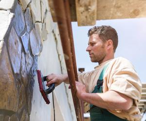 Reparación de grietas en fachadas