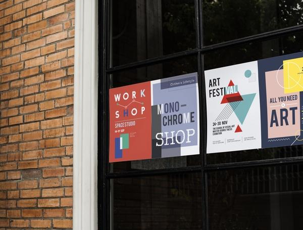impresion lonas campaña electoral barcelona