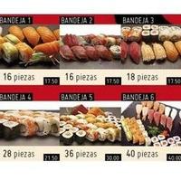 Surtido de piezas: Platos de My Sushi