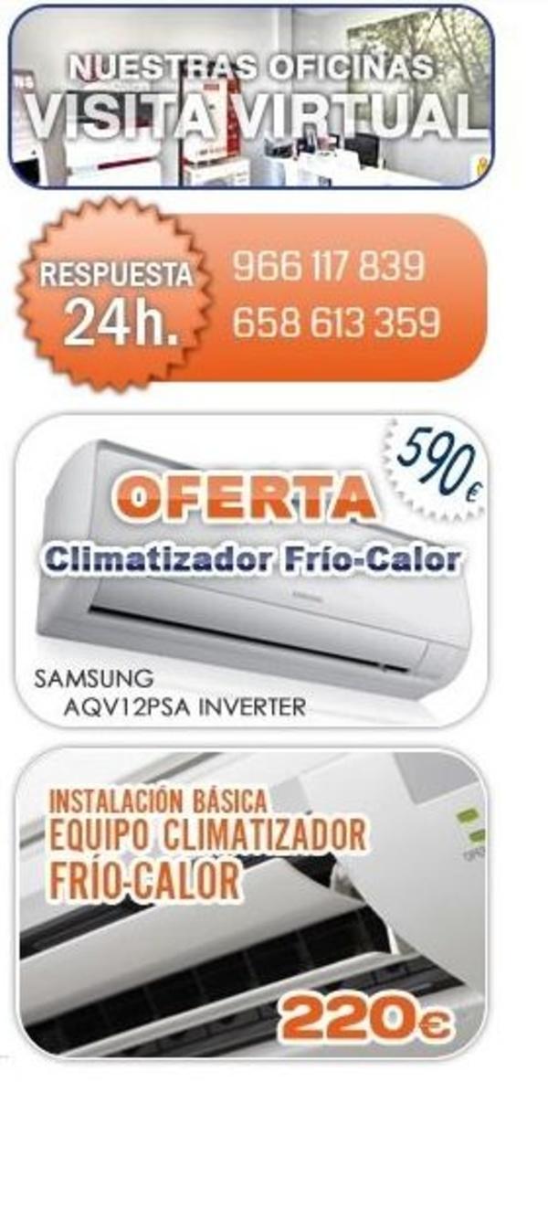 ofertas aire acondicionado Alicante