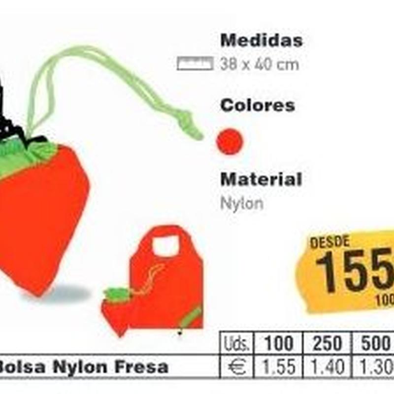 BOLSAS NYLON FRESA: TIENDA ON LINE de Seriprint