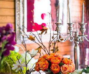 Flores y accesorios ornamentales