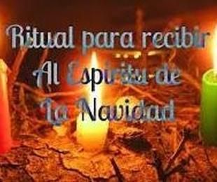 Ritual para recibir el Espiritu de la Navidad
